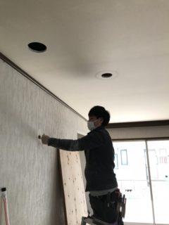 エアコン特値/大津市H様邸工事中