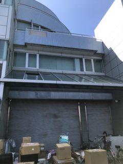 守山市かめやクリーニング第2ビル工場  風災害